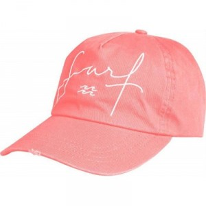 Billabong Chapeau Surf Cap Neon Peach