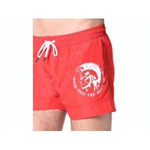 Sandy short homme Diesel rouge