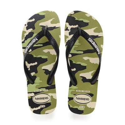 Havaianas tong top camouflage biege adulte