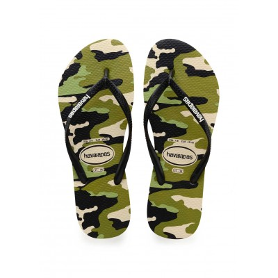 Havaianas tong top camouflage biege kid