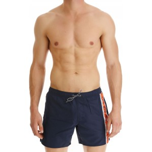 Emporio Armani men swimwear indigo  blue short