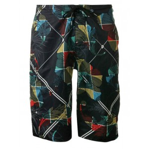 Protest short de bain Brading Multicolore