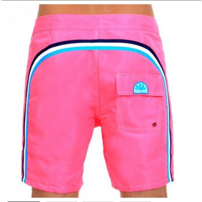 Short de bain Sundek cotton candy rose