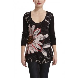 Top Desigual Gadget Noir Love