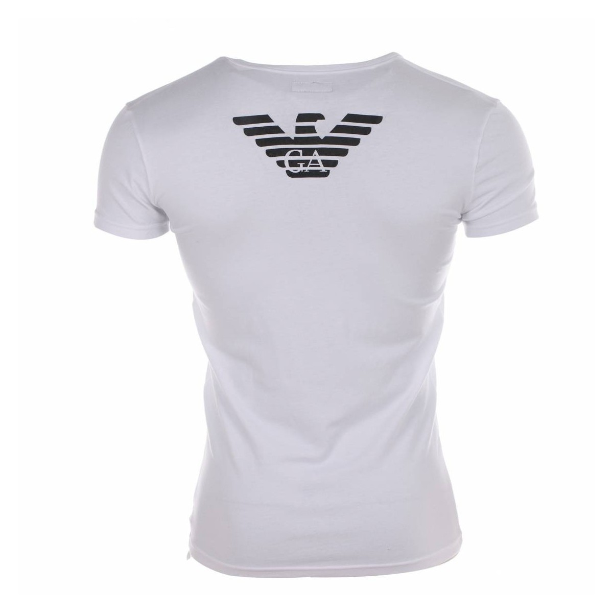 armani white tshirt eagle. Black Bedroom Furniture Sets. Home Design Ideas