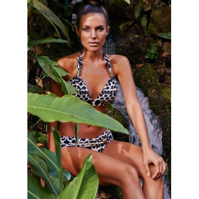 Aguaclara swimwear two piece triangle the jungla Reina
