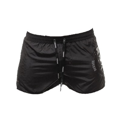 Short bath suit for men Diesel black coralrif