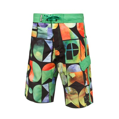 Short de bain Protest donk multicolore