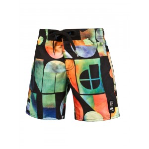 Short de bain enfant kid  Protest  multicolore