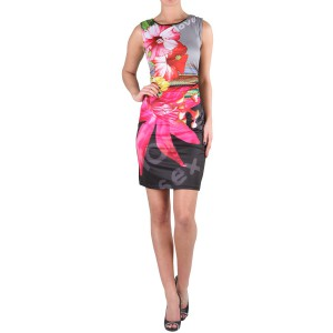 Desigual black with flowers