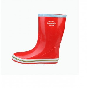 Havaianas red women rain boots