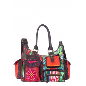 Desigual women handbag london medium seduccio