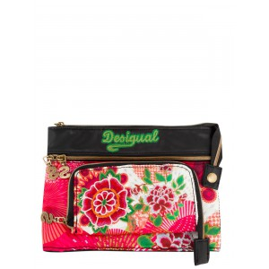 Pochette Desigual mone take it easy floreada