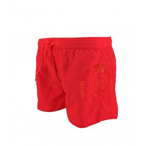 Swimwear short for men diesel coralrif coral fluo
