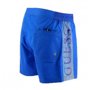 Guess short de bain bleu Baltimoda