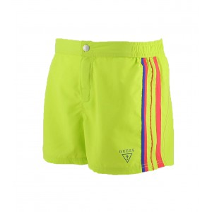 Guess short de bain homme  Green Beat vert