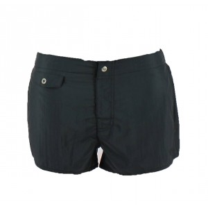 Armani black swim short microfibre