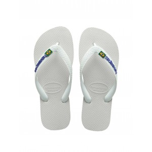 flip flop havaianas white for boy kids junior