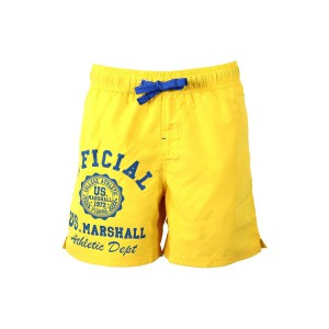 Us marshall men yellow swimwear  board short