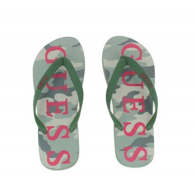 Tong guess pour homme camouflage