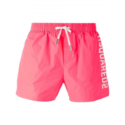 Dsquared2 short de bain homme rose