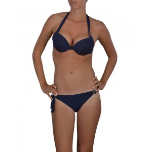 Armani woman swimsuit push up bleu marine