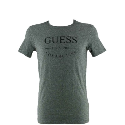 tshirt guess grey slim fit