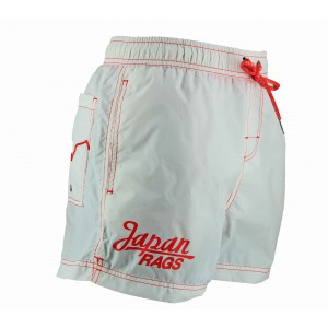 White swim short for men japan rags