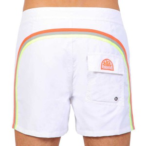 sundek short m502 white 19