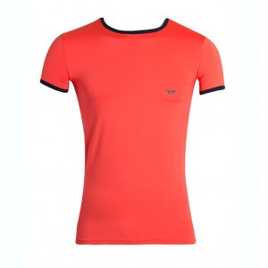 Emporio Armani tshirt coral for men
