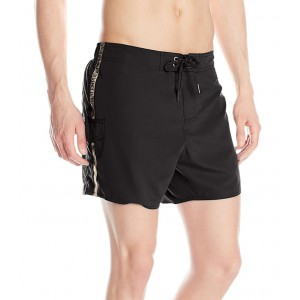 Emporio Armani black swim short for man