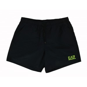 Emporio Armani black swim short for man ea7 38cm