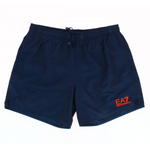Emporio Armani navy men swimwear bath short