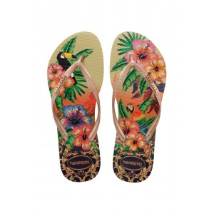 Tong havaianas slim tropical femme