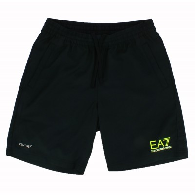 Emporio Armani black swim short for man EA7 Ventus 7
