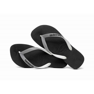 Havaianas tong enfant top mix noir brides grises