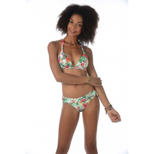 Banana moon swimsuit multicolor lomawai triangl pushup