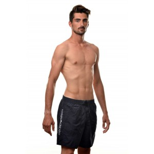 Armani navy blue short for the beach