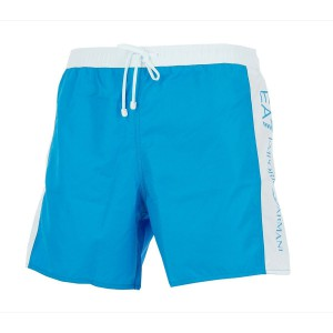 Armani blue et white bath swim short