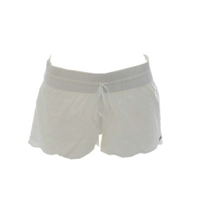 Short OndadeMar crochet blanc cotton