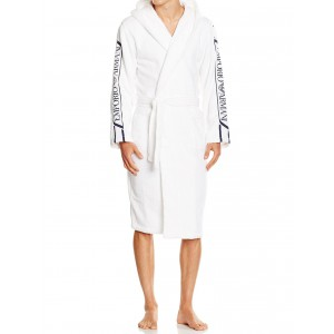 Emporio Armani white bathrobe