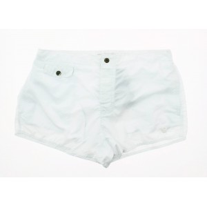 Emporio armani white short beachwear