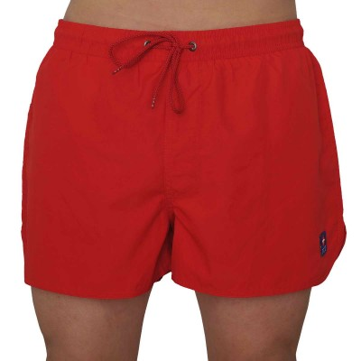 Icu short de bain rouge