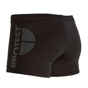 Protest black swim trunk for men