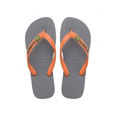 Havaianas brasil flip flop grey adult for man
