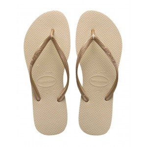 Havaianas chanclas slim gold light