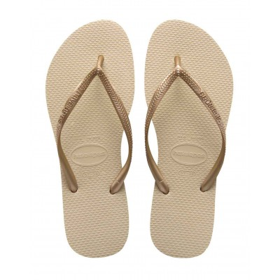 Havaianas slim gold light  flip flop