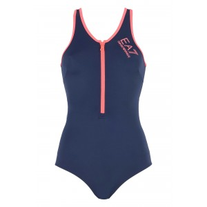 Emporio Armani EA7 swimsuit 1 piece navy blue