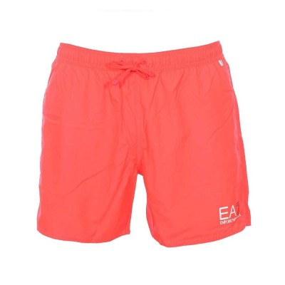 Emporio Armani ea7 boardshort bathing short fluo red