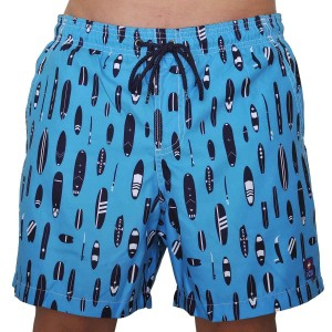 icu bath short for men surf print